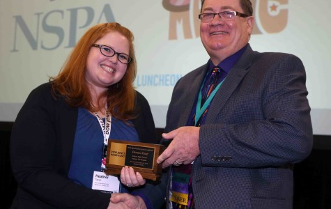 Kaup receives Dow Jones News Fund Special Recognition Adviser award