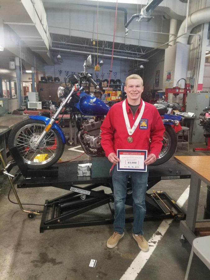 Roach+wins+silver+medal+in+Motorcycle+Service+Technology+at+Yakima+competition