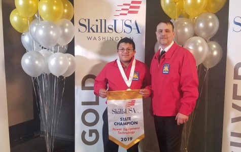 Pineda brings home the gold medal at state competition