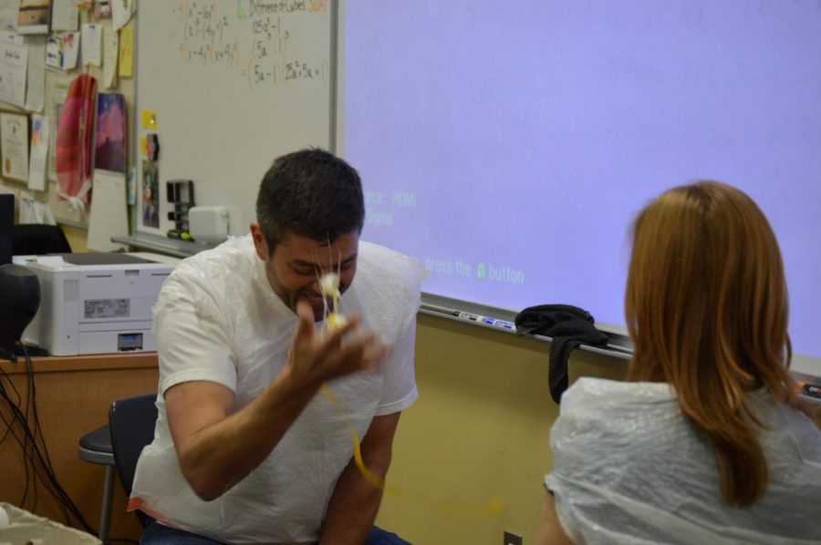 Teachers play Russian Egg Roulette