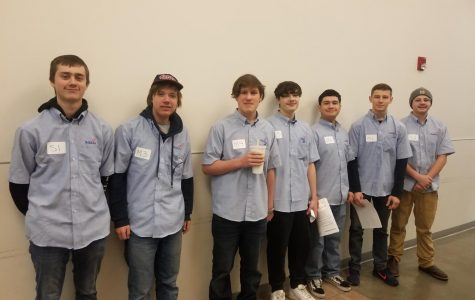 Largest number of participants compete in Skills USA competition