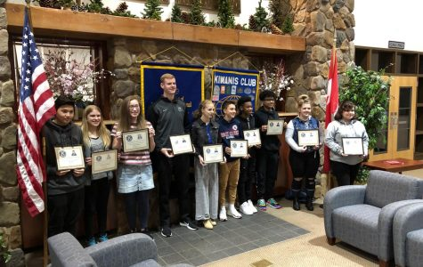 Kiwanis CTE Students of the Month
